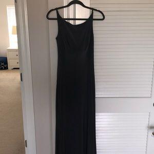 Charcoal Gray Bridesmaid Dress